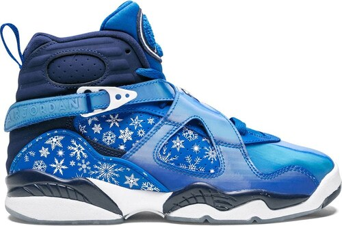 Jordan Tênis 'Air Jordan 8 Retro' Azul .br